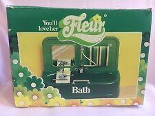 Otto Simon Fleur Boxed Bath & Toilet Dutch Sindy 80's