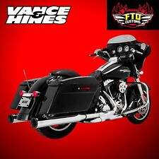 Vance & Hines Chrome Eliminator 400 Slip-On-s   1995-2016 Harley Touring