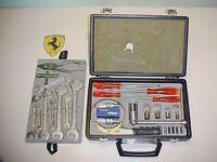 Ferrari 365 Tool Kit_Briefcase_Oil Filter Wrench _Pliers_Screwdrivers GTC4 OEM