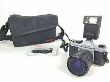 Asahi Pentax K1000 35mm Film Camera w/ 28-80mm Takumar Lense *NEEDS CLEANED*
