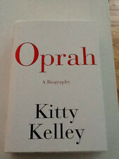 Oprah A Biography SIGNED by Kitty Kelly 1st ed/1st print with full number line