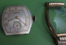 Watch Benrus 15 Jewel Bb3 Vintage 1960's Men's Parts/Repair Band
