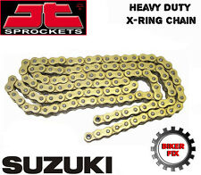 Suzuki GSX750 F-K-W GR78A 89-98 GOLD UPRATED X-RING Heavy Duty Chain