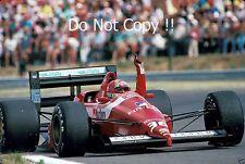 Alex Caffi Scuderia Italia Dallara 188 hongrois GRAND PRIX 1988 photo