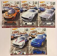 Hot Wheels 1:64 Car Culture 2017 CARS DONUTS SUBARU DATSUN BMW SET 5 *IN HAND*