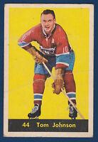 TOM JOHNSON 60-61 PARKHURST 1960-61 NO 44 VG  11343