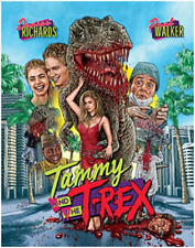 Tammy and The T-rex Blu-ray 1985 Cult Movie W/ Slipcover 101 Films Black Edition