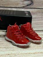 Mini Shoe Air Jordan 11 3D mini Sneaker Keychain with Box and Bag Gift