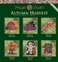 Mill Hill Autumn Harvest Counted Cross-stitch Glass Bead Kits - Various patterns