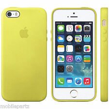 Original Genuino Cuero Estuche Cubierta para Apple iPhone 5 5S SE-Varios Colores