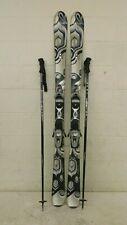 K2 T:Nine True Luv 156cm 118-74-103 Women's Skis Marker MOD 10.0 Bindings +Poles