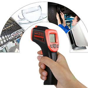 Infrarot Thermometer Pyrometer Laser Temperaturmesser Distanz 12:1 Bis +600°