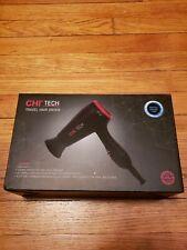 CHI Tech Travel Hair Dryer Black 1400 Watts Dual Voltage Model GF8230