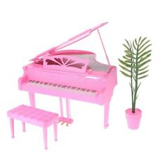 1:6 Fashion Dolls Furniture Piano Play Set for Barbie Kelly Doll Accessory