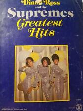 1968 DELUXE VOCAL EDITION ISSUE DIANA ROSS & THE SUPREMES GREAT HITS SONGBOOK