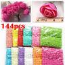 144Pcs/ Pack Mini Foam Rose Artificial Flower Bouquet Wedding Party Home Decor