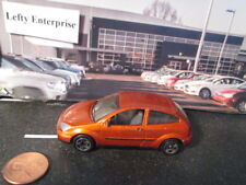 MATCHBOX METALLIC BURNT Orange FORD FOCUS 2DOOR CAR- SCALE 1/57 -1999- stock#2