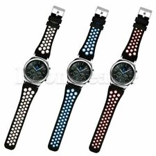 New 22mm Silicone Band Wrist Sports Strap Bracelet For Samsung Gear S3 Frontier