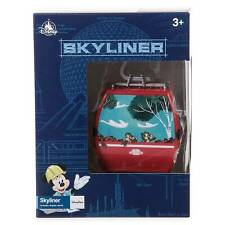 Disney Skyliner Sky Liner Mickey Minnie Chip And Dale Small Toy With Display NIB