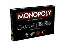 GAME OF THRONES MONOPOLY BOARD GAME OFFICIAL COLLECTORS EDITION IN STOCK NOW!