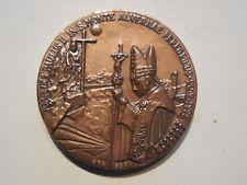 Vaticano medaglia visita di Giovanni Paolo II a La Verna Arezzo 1992