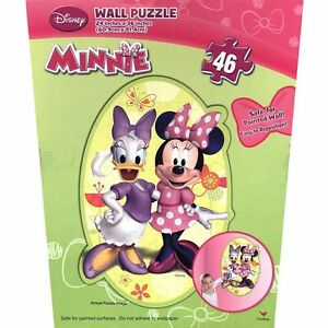 By Broward Toys Disney Minnie Mouse Bowtique Wall Puzzle (46 Pieces )