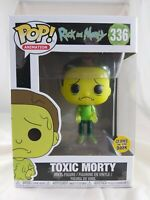 Animation Funko Pop - Toxic Morty Glow (GITD) - Rick and Morty - No. 336