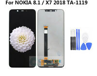 NEW For Nokia 8.1 X7 2018 TA-1119 LCD Display Touch Screen Digitizer Assembly AA