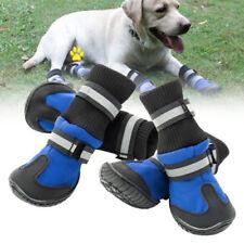 Vestiti e scarpe blu in nylon per cani