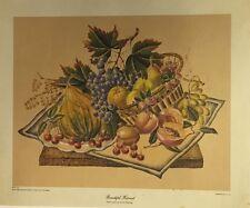 Bountiful Harvest By Unknown Artist