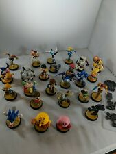 Nintendo Switch Wii Amiibo Super Smash Bros Lot Of 25 Sonic Metroid Ryu Kirby