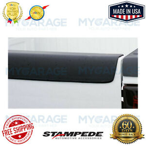 Stampede Black Tailgate Cap Smooth Finish for Chevrolet / GMC #BRC0030