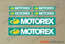 PEGATINA STICKER VINILO Motorex oil autocollant aufkleber adesivi