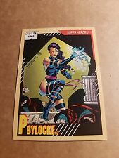 MARVEL UNIVERSE 1991 SERIES 2 CARD #18 PSYLOCKE