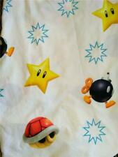 Twin Bed Fitted Sheet*Nintendo Super Mario Bros 2013*Crisp, bright, clean!