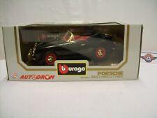 "Porsche 356B Cabrio ""AUTODROM"", 1961, black, Bburago (Made in Italy) 1:18, OVP"