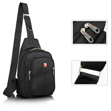 Men's Women's Sling Messenger Chest Bag Shoulder Backpack Travel Bag SwissGear