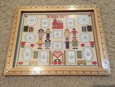 New Homestead Designs Inc. School Days Picture Frame Rulers