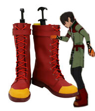 RWBY Oscar Pine Stiefel Schuhe shoes boots Kostüme Cosplay Costume Rot Red Neu