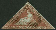 Cape of Good Hope 1853   Scott #1  USED