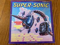 Ronco Presents Super Sonic (1979) LP Record Original Stars, Original Hits VG+
