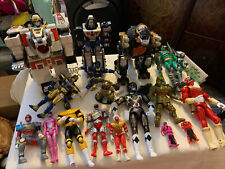 vintage power rangers figure lot