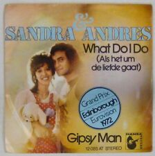 Sandra + Andres 45 Tours Eurovision 1972 Allemagne