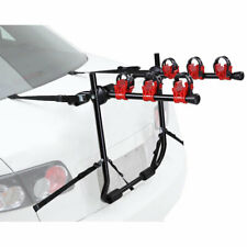3 Bike Rack Cycle Bicycle Mountain w/ Strap Car Carrier Universal Fitting Estate