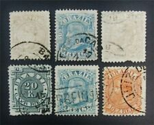 nystamps Brazil Stamp # 79/91 Used $42 J15y338