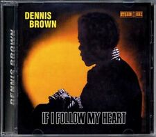 DENNIS BROWN - If I Follow My Heart Studio 1 CD BRAND NEW SEALED Classic Reggae