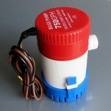 12V 750GPH Bilge Submersible Mini Electric Water Pump For Marine Yacht Silent