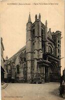 CPA  Montereau(Seine-et-Marne) -L'Église Notre-Dame et Saint-Loup    (249464)