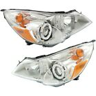 Headlight Set For 2010-2012 Subaru Outback Left and Right With Bulb 2Pc