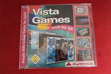 PC CD Spiel Vista Games auch für XP 100 Spiele davon 10 Vollversionen